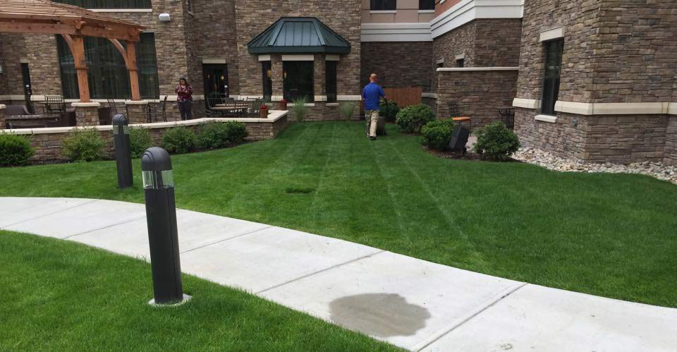 Home landscaping services for albany colonie for Commercial landscaping services